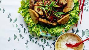 fen re cuisine steamed five spice pork with taro fen zheng rou recipe