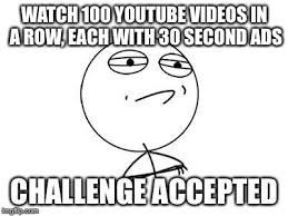 Meme Challenge Accepted - challenge accepted rage face meme imgflip