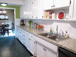 Kitchen No Backsplash by The Modest Homestead Beadboard Backsplash Tutorial