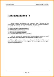 rapport de stage 3eme cuisine 14 lettre de remerciement rapport de stage modele lettre