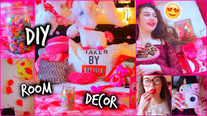 Valentine S Day Bedroom Decor by Diy Room Decor Valentine U0027s Day Decorations Gifts Youtube