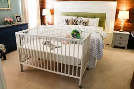 Crib That Attaches To Bed Ikea Hack Crib On Wheels Saving