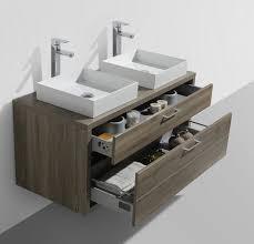 Double Vessel Sink Bathroom Vanities by Tucci 48