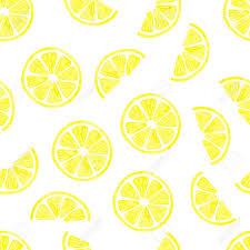 seamless lemon pattern watercolor lemon seamless pattern vector background with lemon