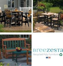 Recycled Patio Furniture Breezesta Recycled Plastic Outdoor Furniture Hot Tubs