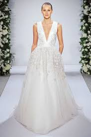 plunging neckline wedding dress types of wedding dresses and exles happywedd com