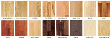 hardwood flooring types wood and the different options on