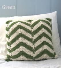 Knit Home Decor Chevron Knit Pillow Cover Home Decor U0026 Lighting Precious Knits