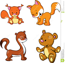 cute cartoon animals royalty free stock photography image 35232977