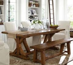 Pottery Barn Style Dining Rooms Spacious Pottery Barn Dining Room Sets With Elegant Wooden Table