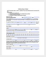 bill of sale u2013 140 free sample example format download free