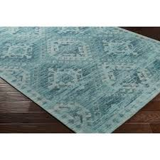 Aqua Area Rug Modern Contemporary Aqua Teal Area Rugs Allmodern
