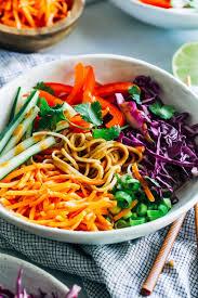 peanut soba noodle bowls making thyme for health
