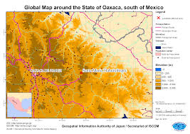 Oaxaca Mexico Map Mexico Landslide Disaster September 2010 Gsi Home Page