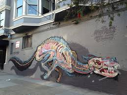 Street Art Incredible Street Artist Nychos Reveals The Anatomy Many