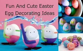 Lawn Easter Egg Decorations by Cute Easter Egg Decorating Ideas How To Decorate Easter Eggs