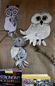 211 best owl art projects images on pinterest owl art