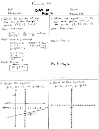 graphing linear equation worksheets up equations doc