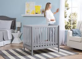 Delta Bennington Changing Table Bennington Elite Mini Crib With Mattress Delta Children