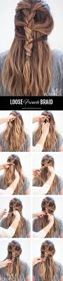 large hair pleats best 25 loose french braids ideas on pinterest messy french