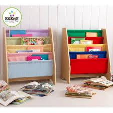 Kidkraft Bookcase Kidkraft Sling Book Display Available In 3 Colours Kidkraft Uk