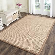 5x7 Jute Rug Decor Jute Carpet Jute Rug With Border Natural Fiber Rug Runners