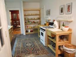 no cabinets in kitchen a kitchen without traditional cabinets thought not about food