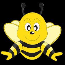 funny cartoon valentine love heart honey bees cartoon pngclip