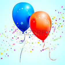 congratulatory cards glossy balloon vector illustration for congratulatory cards