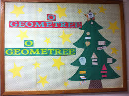 Christmas Door Decorating For Classrooms Christmas Bulletin Board Math Tree By Mrs Smith Whca Christmas