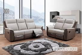 Genuine Leather Reclining Sofa Abington Genuine Leather 3 Seat Reclining Sofa Black Ifurniture