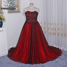 popular red gothic wedding dress buy cheap red gothic wedding