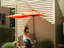 Half Umbrella Patio The Better Half Patio Umbrella Product Review