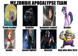 Zombie Team Meme - meme by markellbarnes360 on deviantart
