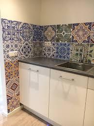 Kitchen Wallpaper Backsplash Happy Customers Behangfabriek