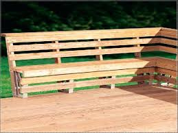 Planter Bench Seat Building A Deck With Built In Benches Deck With Built In Benches