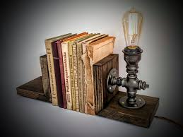 Steampunk Furniture Bookends Book Holders Cool Bookends Book Stopper Unique