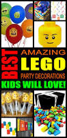 Easy Party Decorations To Make At Home by Best 25 Lego Decorations Ideas On Pinterest Boys Party Ideas
