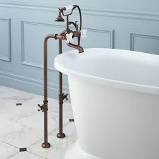 freestanding telephone tub faucet supplies and valves porcelain