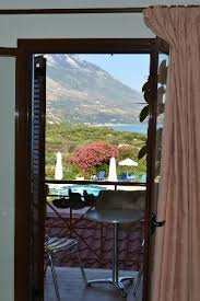 Secure French Doors - view through secure shuttered french doors picture of karavados