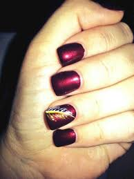 128 best wow redskins nails images on pinterest washington