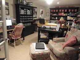 Office And Sewing Room Designs Organized Sewing Room Designs