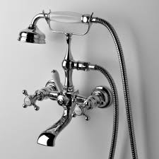 waterworks julia collection wall mount tub filler with