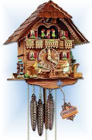 schneider see saw cuckoo clock 13 bavarian clockworks