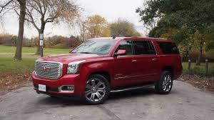 gmc yukon trunk space review 2015 gmc yukon denali xl canadian auto review