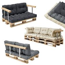 sofa paletten en casa palettenkissen in outdoor paletten kissen sofa polster