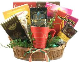 gourmet coffee gift baskets crosswords and coffee gift basket