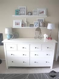 love the shelves above the dresser bedrooms pinterest