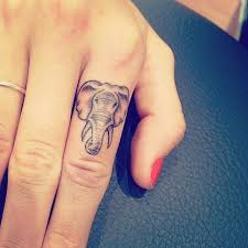 best 25 elephant finger tattoo ideas on pinterest cover up
