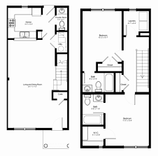 town house floor plans unique one bedroom townhouse floor plans house plan
